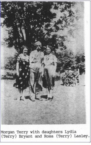 Morgan Terry, daughters Lydia and Rosa