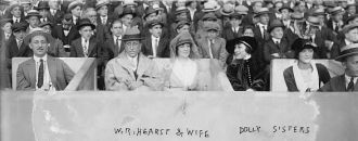Wm. Randolph Hearst & wife, Dolly Sisters