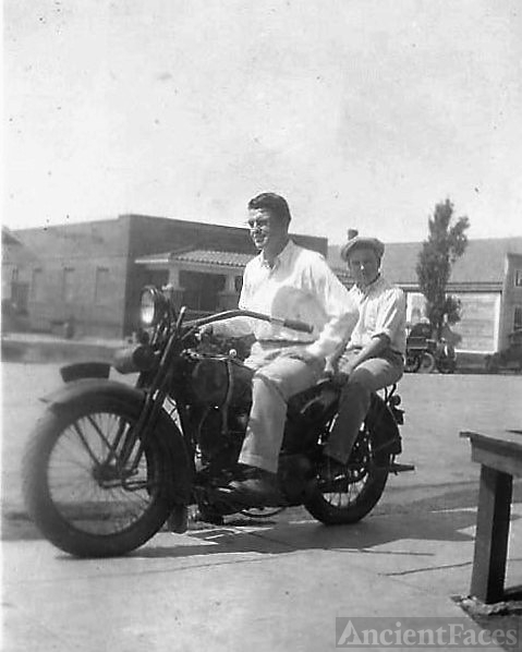Motorcycle, abt. 1923