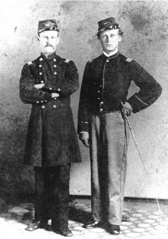 Major Reubin Reinhold and Captain Martin Reinhold