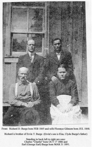 Richard D. Burge and Family