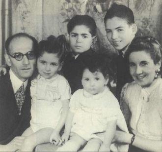 Lambert family 1943 France
