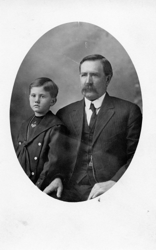 Unknown Father & son
