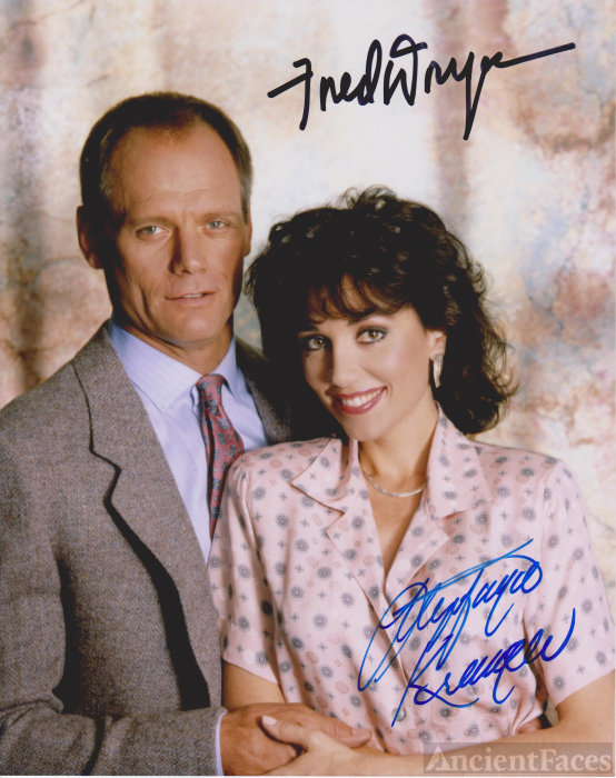 Fred Dryer & Stepfanie Kramer on Hunter (1984)