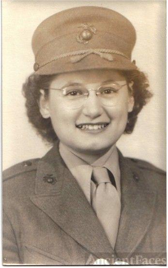 Mildred Kalb Marine Sargent