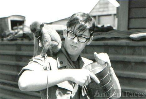 Giblisco with pet