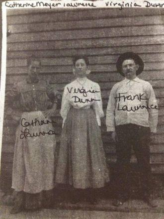 Catherine & Frank Lawrence, Virginia Dunn