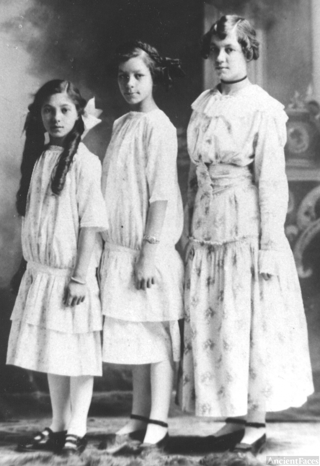 Three Girouard Sisters