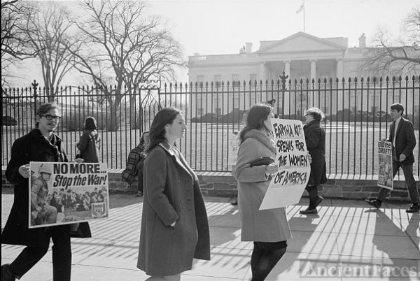 Anti-Vietnam war protest