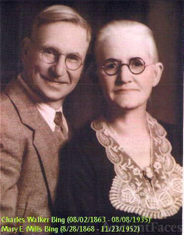 Charles Walker Bing and Mary Mills Bing