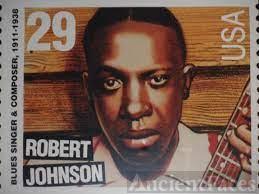 Robert Leroy Johnson is on a postage stamp.