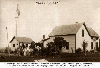 Holtz family, Iowa 1912