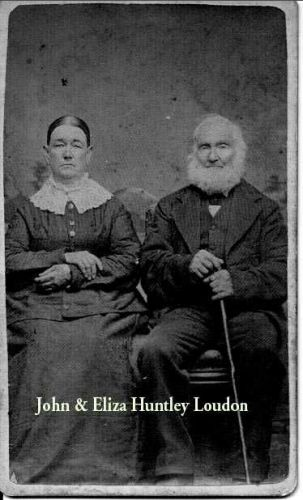 John and Eliza (Huntley) Loudon