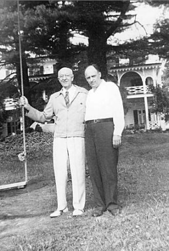 Reunion of Raymond & Robert Van Tassel
