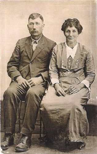 Sarah Catherine Statler (Stotler) & J.A. Morrison
