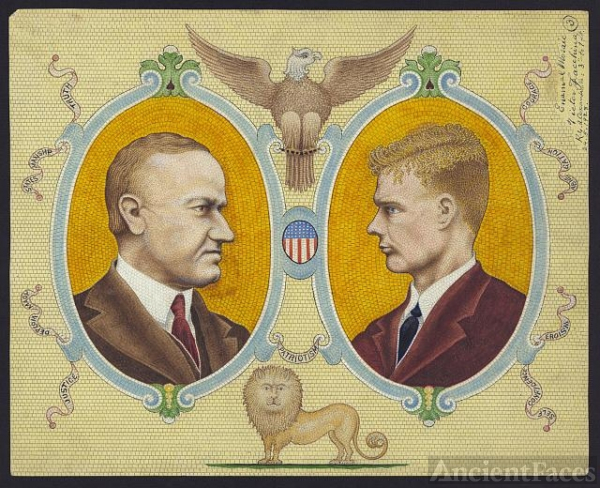Calvin Coolidge and Charles Lindbergh
