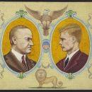 Calvin Coolidge and Charles Lindbergh