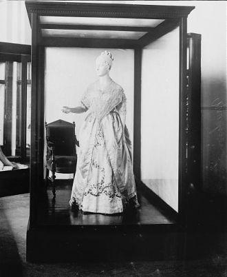 Dolly Madison inaugural dress