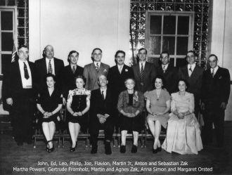 Martin and Agnes Zak Family