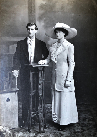 Herbert Ernest & Flora Adelaide Buckler (nee Hunt)