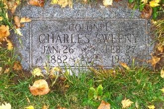 Final Resting Place for Colonel Charles Sweeny