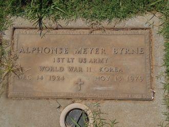 Alphonse Meyer Byrne gravesite