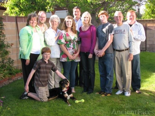 Edward Thomas White Family