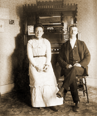 George and Alice Curry in 1901