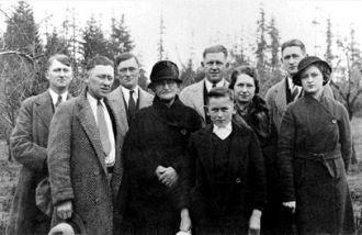 Mary (Barthel) & William Bold Family, Washington