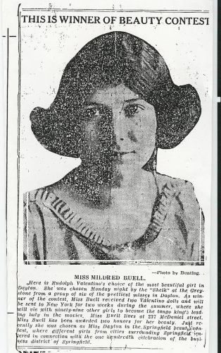 Mildred Buell or Buel of Dayton, Ohio