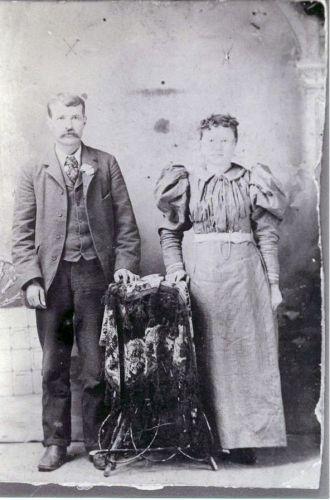 Benjamin Franklin & Clara Hardiman