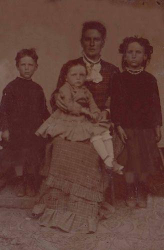 Unknown Family Tintype 001