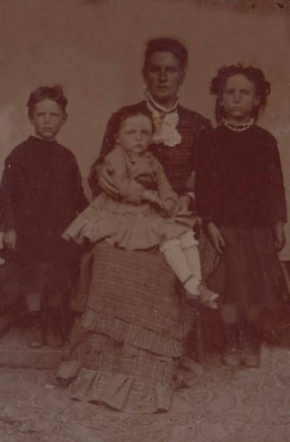 Unknown Family Tintype 001