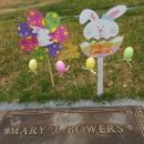Mary J. Bowers Gravesite