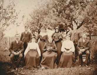 Simon Family 1893
