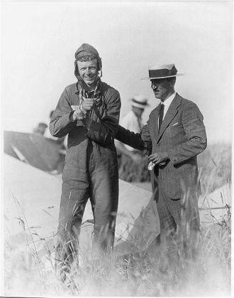 Charles Lindbergh, 1925