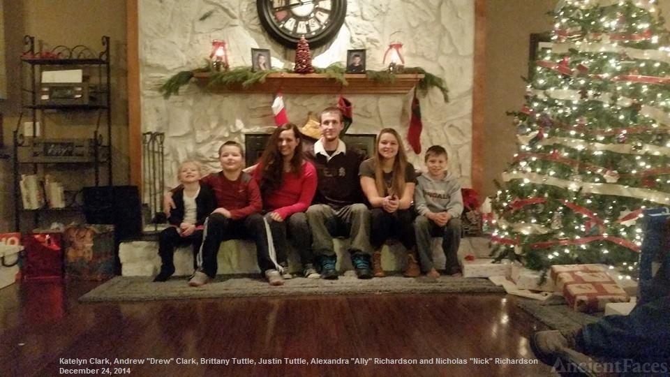 Tuttle, Clark, and Richardson grandchildren