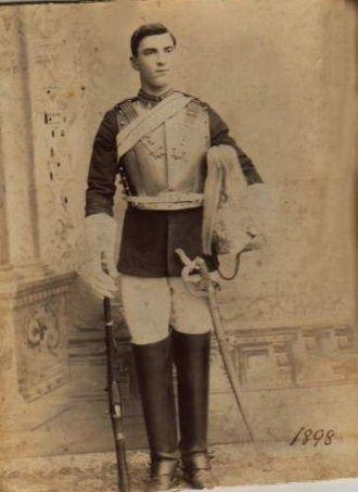 Richard Collett-British lst Life Guards (Cavalry)