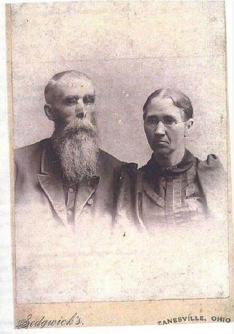 Jacob & Julia Ann (Drumm) Fink, Ohio 1900