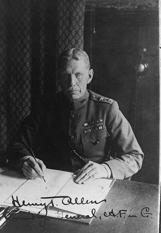 Henry Tureman Allen | Comanding General