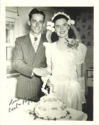 Carl W Tepe Wedding
