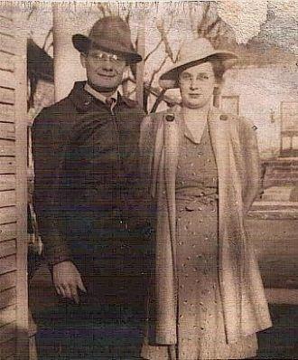 Glenn O. Frank & wife