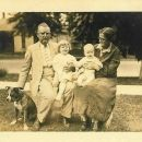 Wm & Ada (Martin) Tanksley With 2 Grandchildren