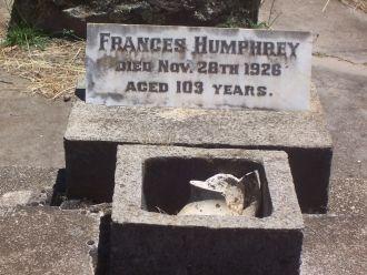 Frances Rodwell Gravesite
