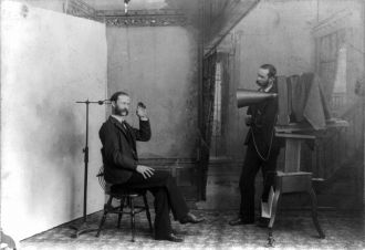 1893 Photographer's studio