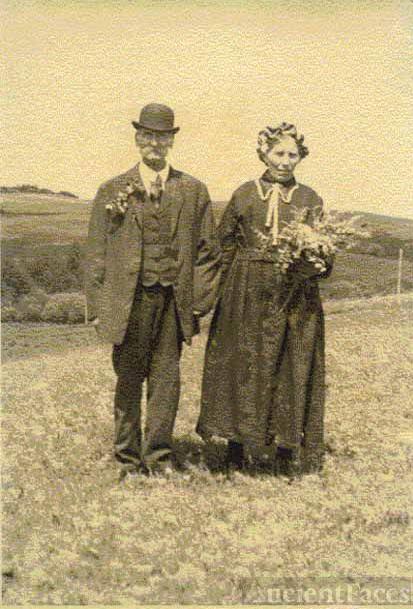 August and Augusta Browatzke, 1915