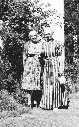 Martha Homes and Anna Belle Van Tassel