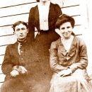 Frank,Della And Emma Smedley
