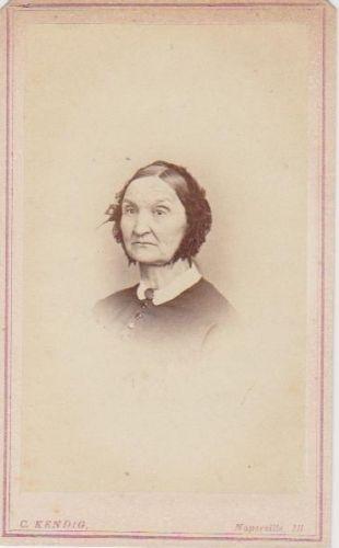 Lucy (Peet) Richards, Illinois c1865