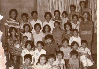 Ofreneo Family, Philippines 1973